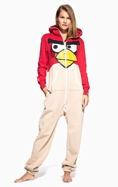 The Angry Bird Onesie From OnePiece is Perfect for Gamers trendhunter.com