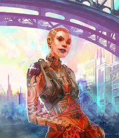 Mass Effect 2 - Subject Zero by axl99.deviantart.com on @deviantART #jack