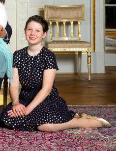Maud Angelica Behn, Février 2017, Photos officielles pour les 80 ans du Roi et de la Reine de Norvège