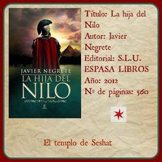 Reseña: La hija del Nilo.