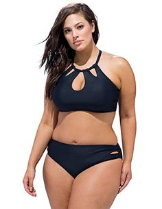 Introducing Swim Sexy Womens Plus Size Debutante Bikini 18 Black. Get Your Ladies Products Here and follow us for more updates!