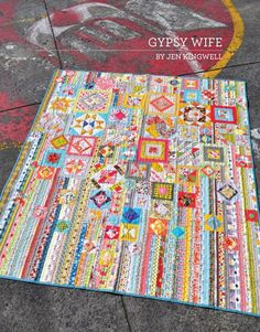 Another fabulous pattern from Jen Kingwell Designs! This booklet contains all the information needed to recreate this beautiful quilt. Finished Quilt Measures 59″ x 68″.