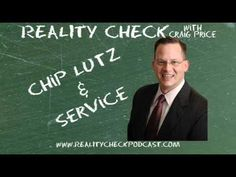 http://realitycheckpodcast.com    LCDR Chip Lutz, USN(Ret), MSEd, CLL (whew, that's a lot of letters!) joins Craig to discuss his 22 years of service in the Navy, where he was on 9/11, how the war in the Middle East made him a single parent (not what you think!) and why a little laughter can go a long way.    Learn more about Chip at http://www.convenantleadership.com and follow him on twitter @chiplutz    Subscribe to the podcast at http://realitycheckpodcast.com