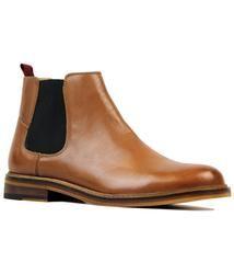 Deon BEN SHERMAN Retro Mod Leather Chelsea Boots: http://www.atomretro.com/product_info.cfm?product_id=18559 #bensherman #deon #chelseaboots #boots #dealerboots #atomretro #mensfootwear