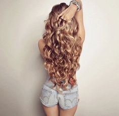 How to Curl Your Hair Without Heat? How to Curl Your Hair Without Heat? The had their perms and Curled Hairstyles, Pretty Hairstyles, Hair Day, Gorgeous Hair, Beautiful Braids, Hair Looks, Her Hair, Hair Inspiration, Hair Inspo