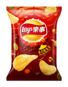 Lay's Potato chips Package on Behance