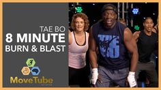 Tae Bo® 8 Minute Workout Burn & Blast with Billy Blanks 2015 Tae Bo Workout, 8 Minute Workout, Home Boxing Workout, Step Workout, Kickboxing Workout, Dance Workout Videos, Cardio Dance, Sandro, Youtube Workout