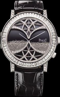 White gold Diamond Ultra-thin mechanical Secret watch - Piaget Luxury Watch G0A33181