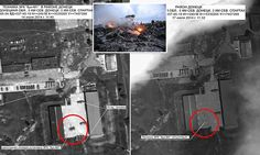 Russia has been accused of digitally altering two satellite images to pin the blame of downed passenger plane MH17 on Ukrainian forces, it has been claimed.