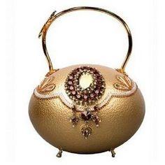 Russian Imperial Fabergé Eggs Bag.