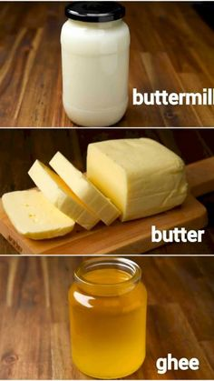 How To Make Butter Recipe, Snack Recipes, Cooking Recipes, Rice Flour Recipes, Vegan Recipes, Buttermilk Recipes, Indian Dessert Recipes, Healthy Indian Recipes, Sauces