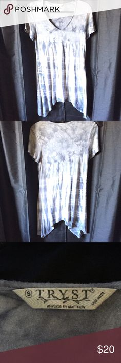 Tie-dye tunic dress Depending on your height and/or torso, this piece can be used as a flowy tunic top or a dress. May be worn alone or with shorts. Or layered with sweaters or cardigans and jeans. It's versatility means you can use it all year-round for any season. In great condition. Nordstrom Rack Tops Tunics