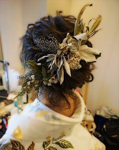 Japanese Wedding, Hair Arrange, Hair Setting, Wedding Hairstyles, Kimono, Cosplay, Bridal, Hair Styles, Image