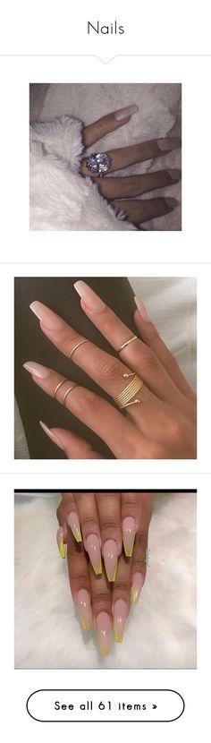"""Nails"" by kingmairi ❤ liked on Polyvore featuring pictures, nails, makeup, beauty products, nail care, nail polish, beauty, shiny nail polish, pink and pics"