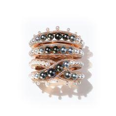 Hermès Ombres et Lumière pearl bracelet from the HB-IV Continuum collection