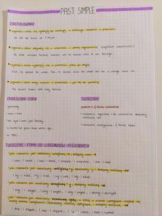 English Exam, English Writing, English Study, English Grammar, School Organization Notes, School Notes, English Phrases, Learn English Words, English Language Learning