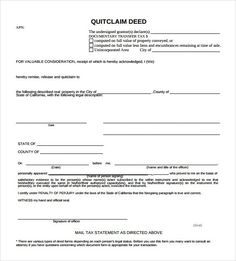 Filing A Va Claim Amvets Quit Claim Deed Maryland Http