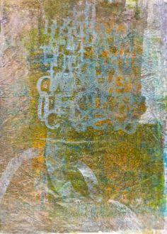 Deli paper stencil mask, large Gelli Plate
