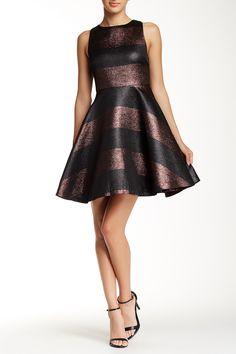alice + olivia   Shimmer Cutout Back Dress   Nordstrom Rack  Sponsored by Nordstrom Rack.
