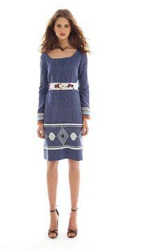 lemlem — Mala Scoop Neck Dress