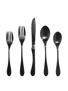 KNORK 288 Titanium 5 Piece Set, Black at MYHABIT