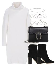 """""""Untitled #3078"""" by theeuropeancloset on Polyvore featuring DKNY, Isabel Marant, Gucci, ASOS and Minor Obsessions"""