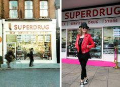 #Superdrug50 Putney Superdrug in 1966 and today (Picture: Superdrug)