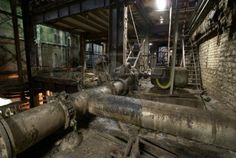 abandoned factory interior - Google Search