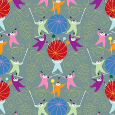 Year of the Sewist fabric by sammyk on Spoonflower - custom fabric