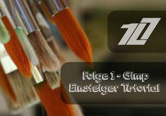 GIMP 2.8 Einsteiger Tutorial - Folge 1 [Deutsch/German]   HD