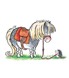 Prompts childhood memories of Thelwell