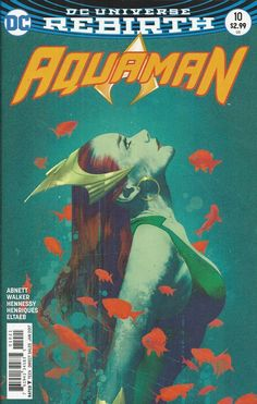 DC Aquaman Universe Rebirth comic issue 10 Limited variant
