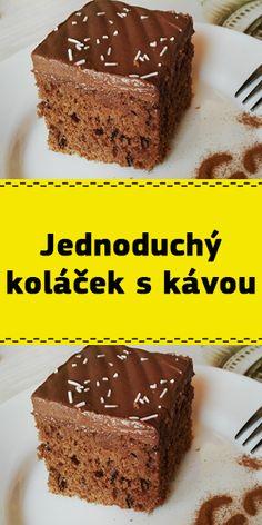 Food And Drink, Cake, Desserts, Recipes, Czech Recipes, Kuchen, Tailgate Desserts, Deserts, Postres