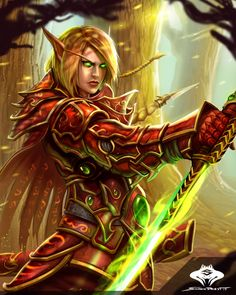 World of Warcraft Art Board ^^ // Blizzard // wow // // Digital // Blood Elf #Worldofwarcraft #Art #WarcraftArt #Digitalart #Wow #BlizzardArt