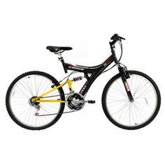 Acabei de visitar o produto Bicicleta Track Bikes TB 100 Dupla Suspensão 18 V - Aro 26