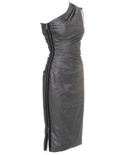 BurdaStyle - 01/2011 One shoulder dress with side zipper
