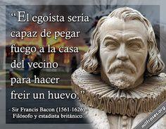 Sir Francis Bacon, filósofo y estadista británico.