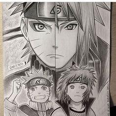 Naruto and Minato Naruto Anime | AnimeNinja: https://www.facebook.com/211860375973949/