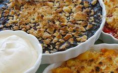 Mustikka-murupiirakka Pie Crumble, 20 Min, Bon Appetit, Gluten Free Recipes, Food Inspiration, Macaroni And Cheese, Food To Make, Blueberry, Sweet Tooth