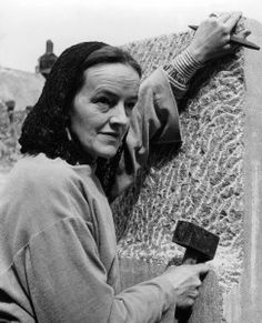 Barbara Hepworth by Peter Keen in Cornwall