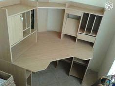 1000 ideas about bureau d 39 angle on pinterest work desk - Fabriquer un bureau d angle ...