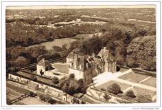 Frankreich - I719 Chateau de Rabodanges - Vue aerienne - Castello schloss castle castillo / non viaggiata