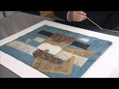 The Museum of Modern Art: Picasso: Guitars 1912-1914 | Picasso's Collage Materials