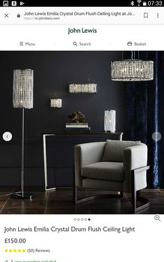 Flush Ceiling Lights, Wall Lights, Globe Pendant, Crystals, Appliques, Wall Fixtures, Crystal, Crystals Minerals