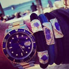 URU Men with Rolex Rolex Watches, Unisex, How To Wear, Men, Accessories, Fashion, Moda, Fashion Styles, Fashion Illustrations