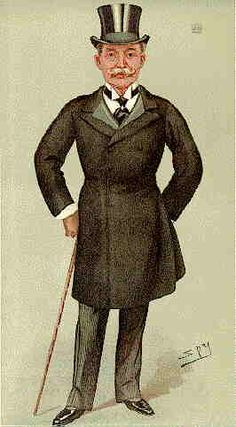 1898. FARQUHAR Lord. 'Horace'. Director of Parr's Bank. By Spy. Born 1844. JP for Middlesex. MP for Marylebone. Original Director of British South Africa Company. Coloured.