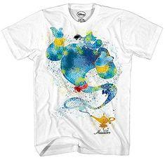 Aladdin Genie Ink Blob Alladin Lamp Movie Disney World Disneyland Funny Mens Adult Graphic Tee T-Shirt Apparel (X-Large) Disney Shirts For Family, Shirts For Teens, T Shirts For Women, Science Tees, Disney Aladdin Genie, T Shirt Costumes, Classic Outfits, Classic Clothes, Disney Trips