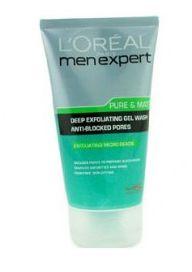 Men Expert Pure & Matte Deep Exfoliating Face Wash