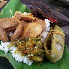 Nasi Padang at Kampung Baru - various stalls - mainly at Makanan Padang Asli.