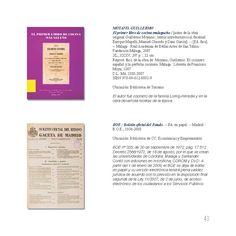El primer libro de cocina malagueño. BOE : Boletín oficial del Estado. Ejemplares localizables en http://jabega.uma.es/